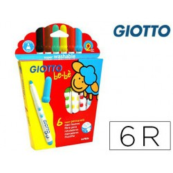 Retoladors Giotto Be-Be 6u.