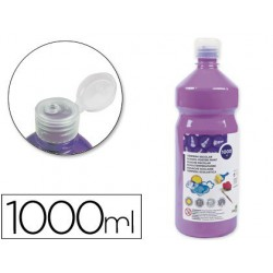 Témpera Liderpapel Basic 1000ml. lila