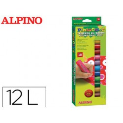Tempera en barra Alpino 12u.