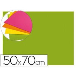 Goma Eva fluorescent 50x70xm.verd