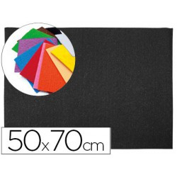 Goma Eva textura toalla 50x70xm. negro