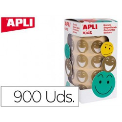 Gomets Apli Smiley or 900u. removibles